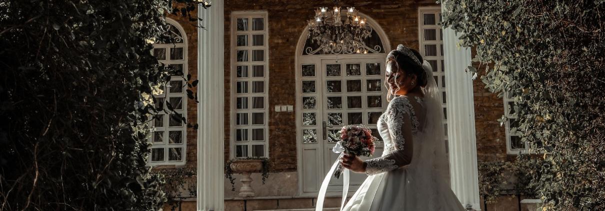 عروس در باغ عروس شکاری